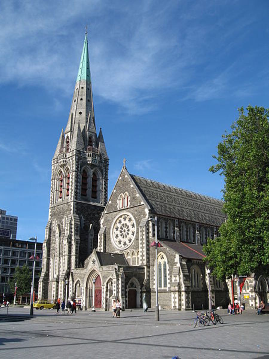 Poetry Month, April 2018: Christchurch & Lyttelton, New Zealand; 5 Poems; Pre- & Post-Earthquake