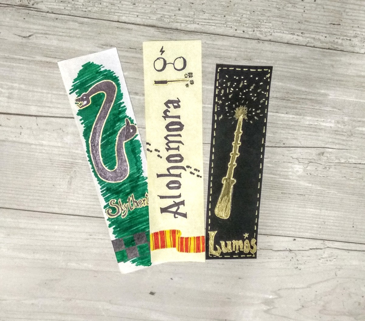 DIY Harry Potter Inspired Bookmark Ideas