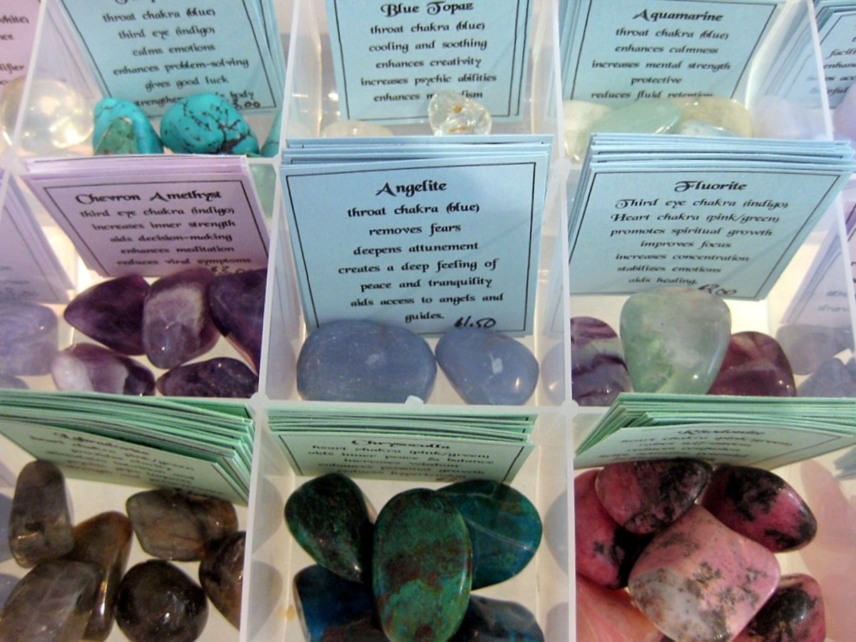 Crystal healing is a safe and effective natural therapy.