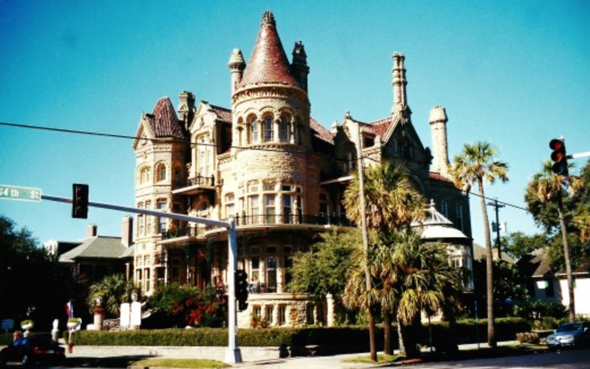 The Bishop's Palace in Galveston, Texas