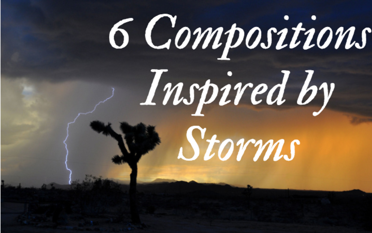 Storms have inspired many great artists.