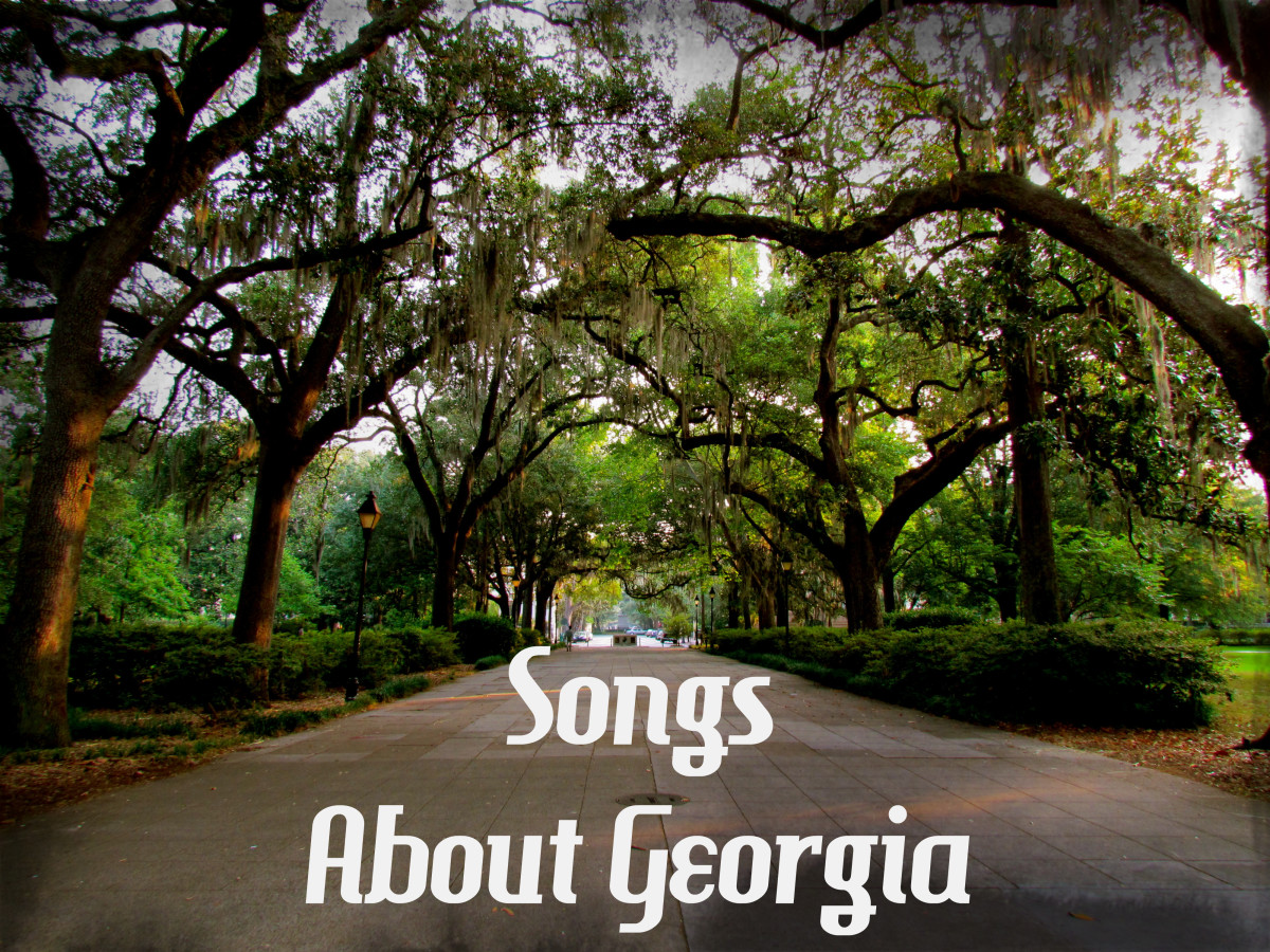 Celebrate the great state of Georgia, known for its pecans, peaches, poultry, and peanuts, home of Coca-Cola and the Masters Golf Tournament, antebellum homes and that sweet southern drawl. Make a playlist of pop, rock, and country songs to honor it.