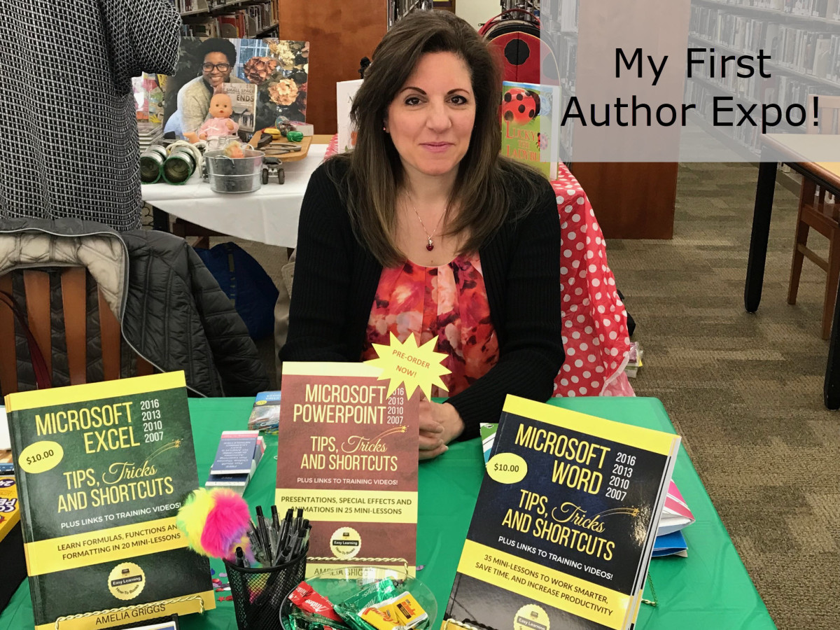 My First Author Expo - A Great Experience!