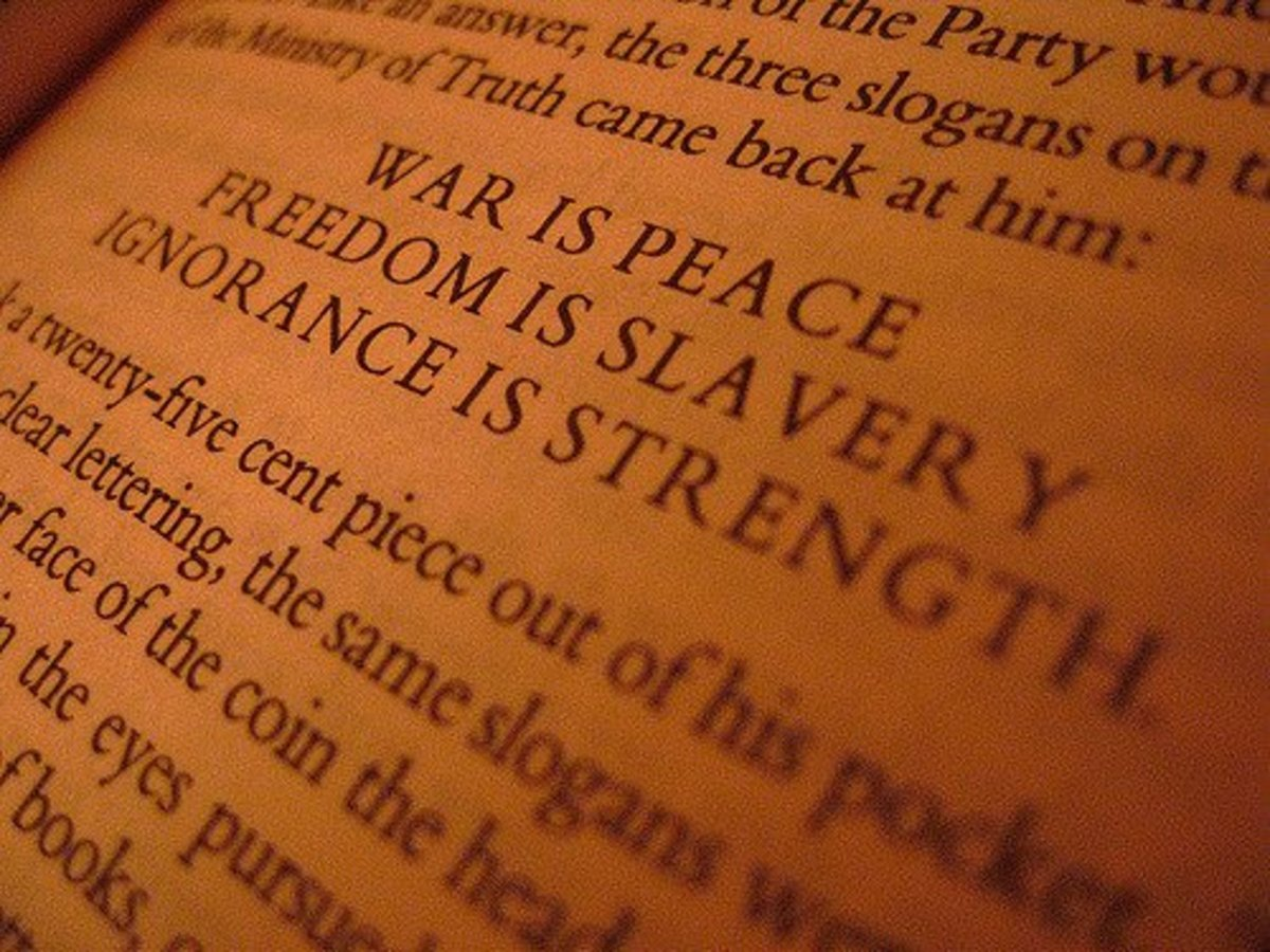 the-meaning-of-war-is-peace-freedom-is-slavery-and-ignorance-is-strength-in-orwells-1984