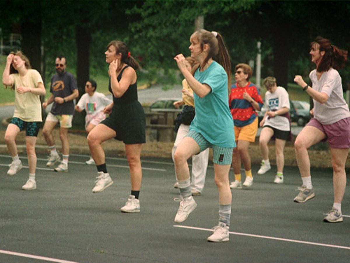 Freestyle aerobics