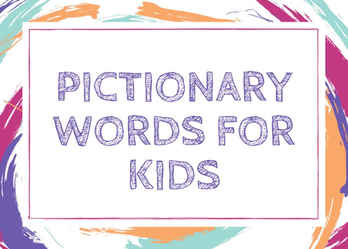 adult pictionary words