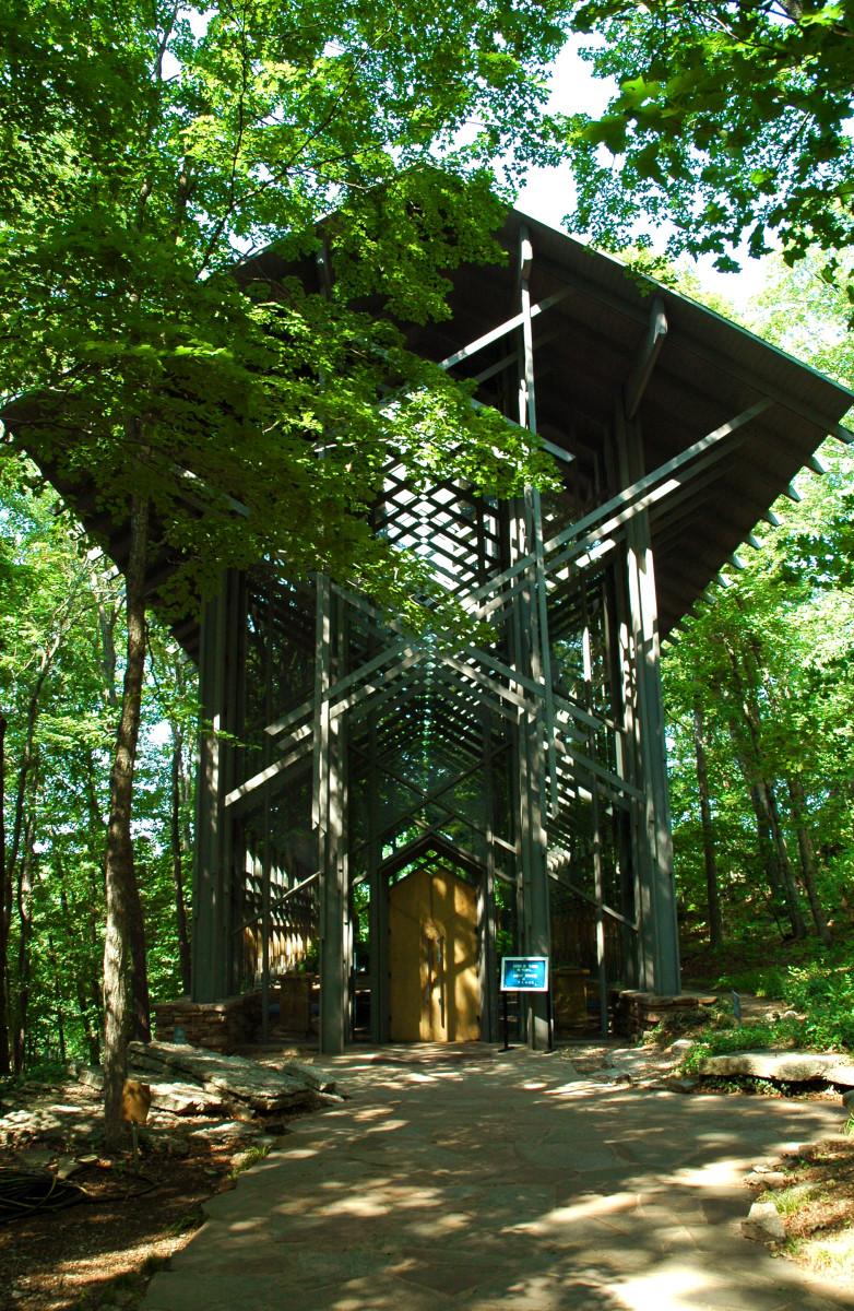 Visit My Beautiful Arkansas:  Thorncrown Chapel
