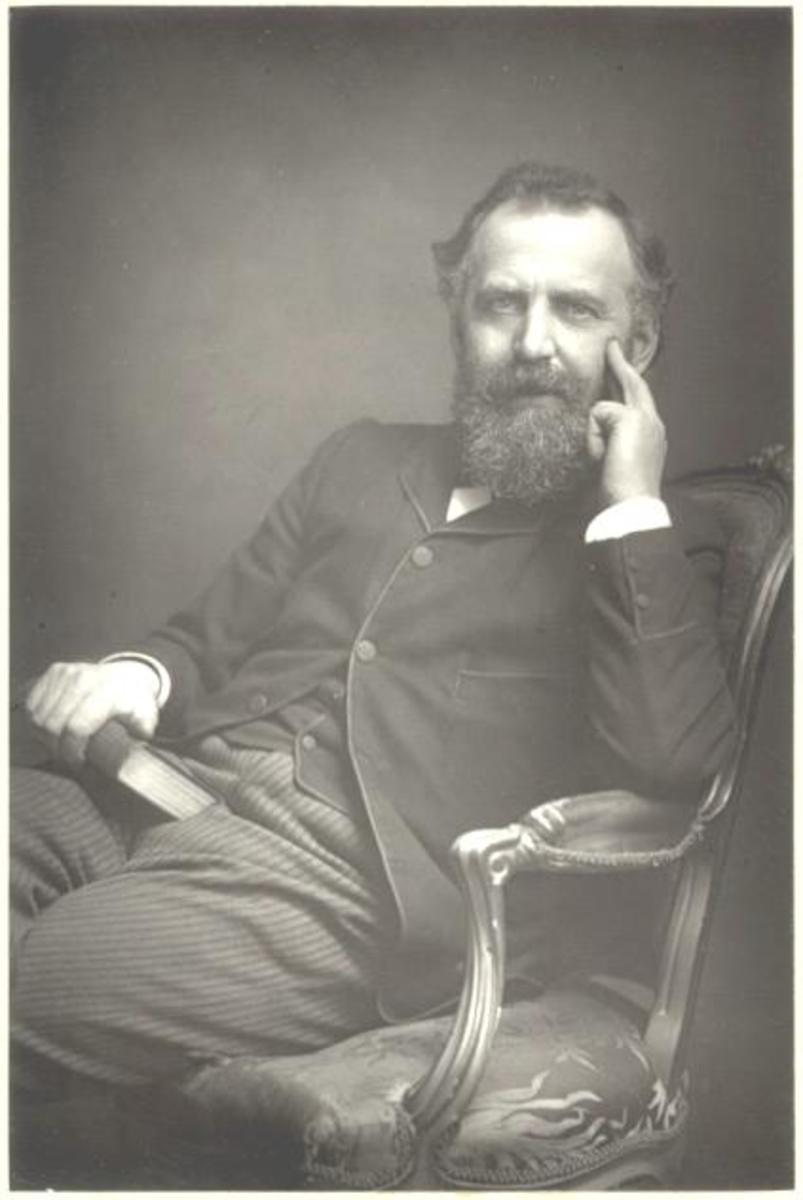 William Thomas Stead in 1881.