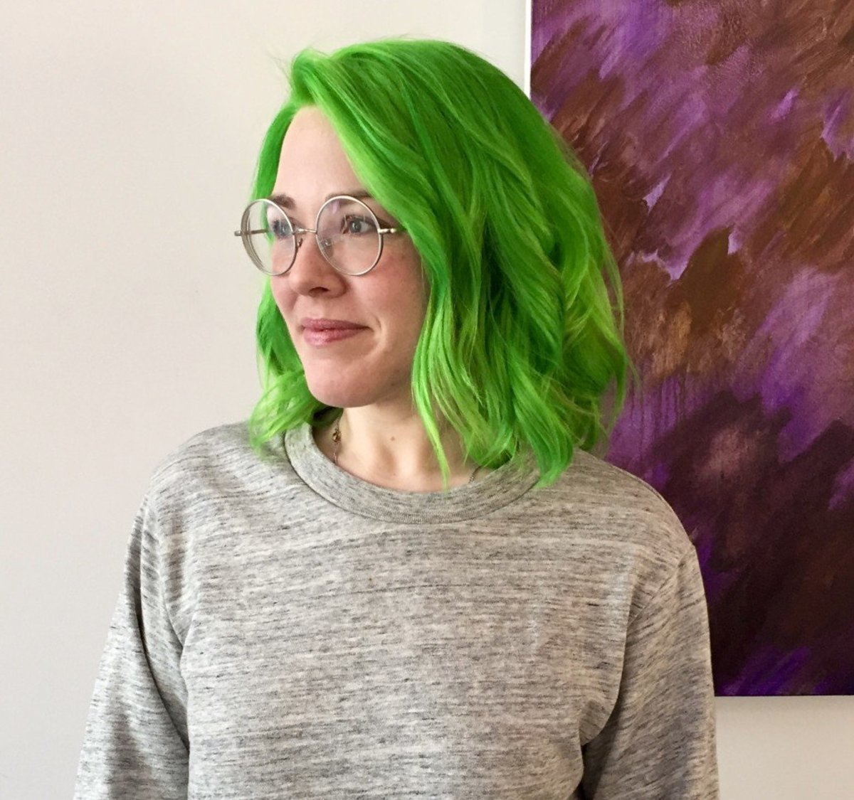 Offer Up Atlanta >> Hair DIY: 5 Ideas for Green Hair and How to Do Them at Home | Bellatory