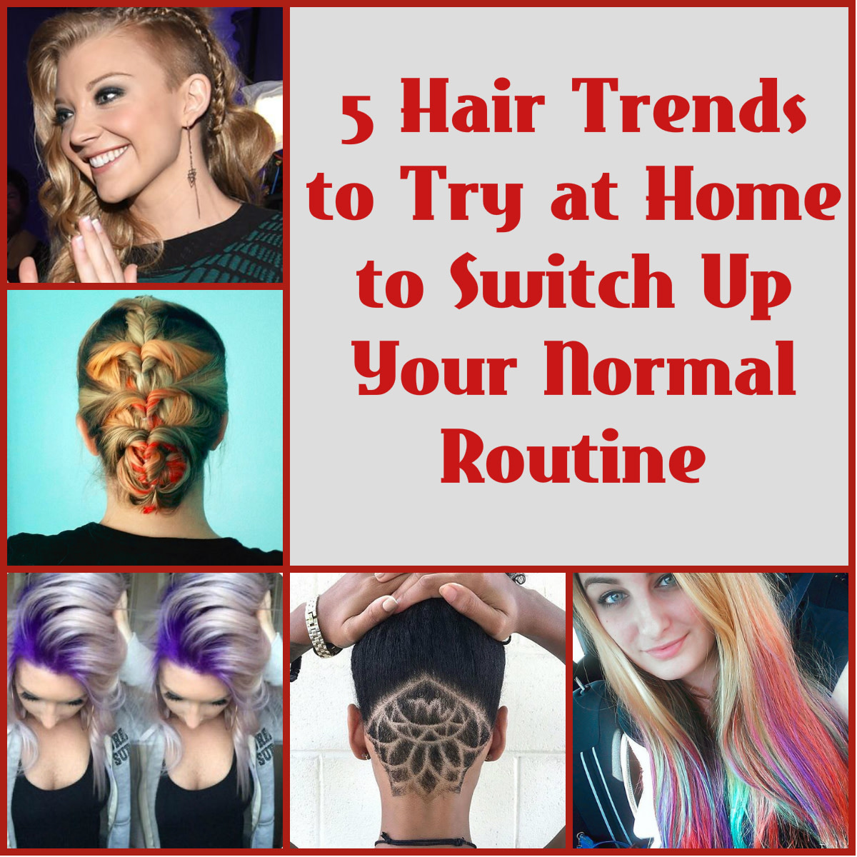 Hair DIY: 5 Hair Color and Style Trends to Switch up Your Normal Routine