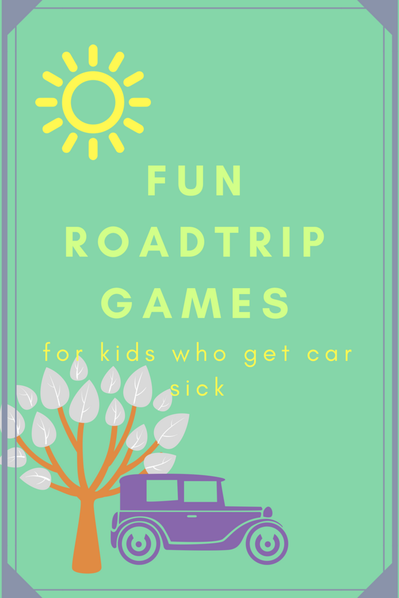 Fun Car Games for Kids Who Get Car Sick