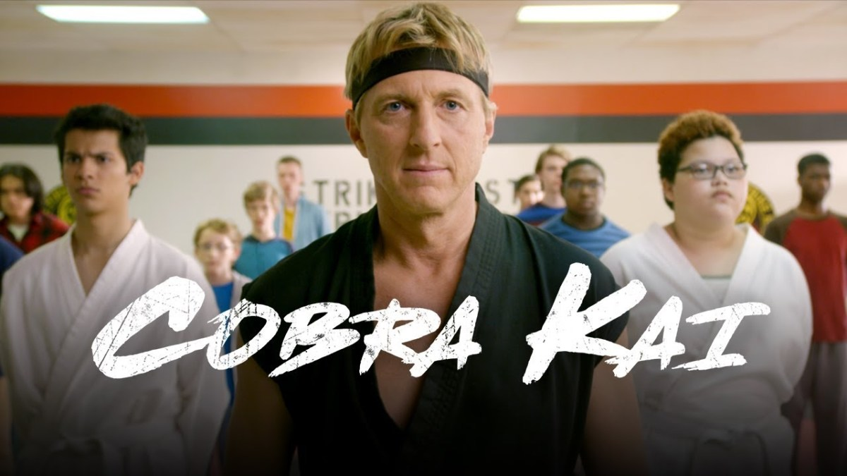 William Zabka's 80s bully Johnny Lawrence is front-and-center in Cobra Kai