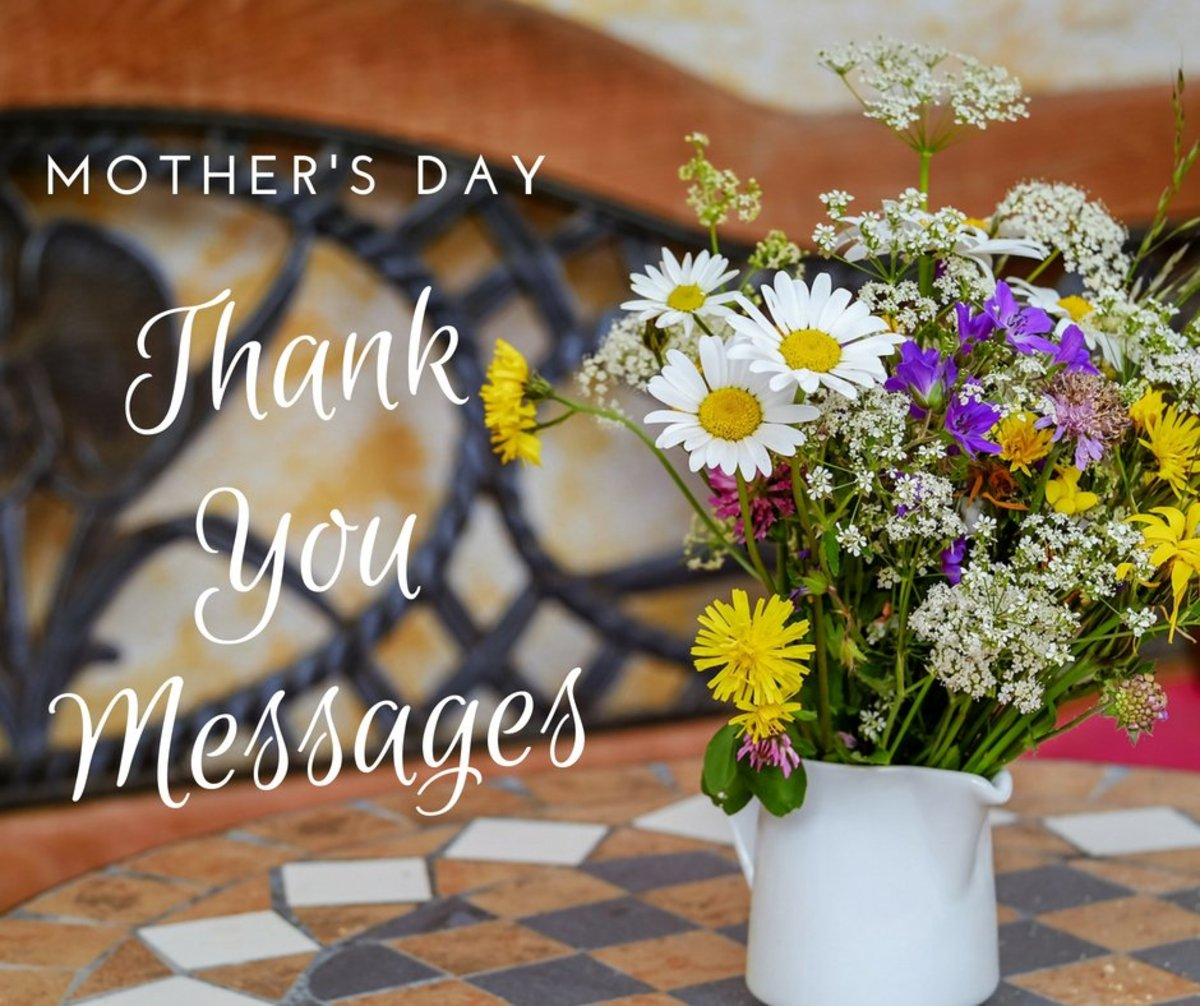Thank You Messages for Mom on Mother's Day