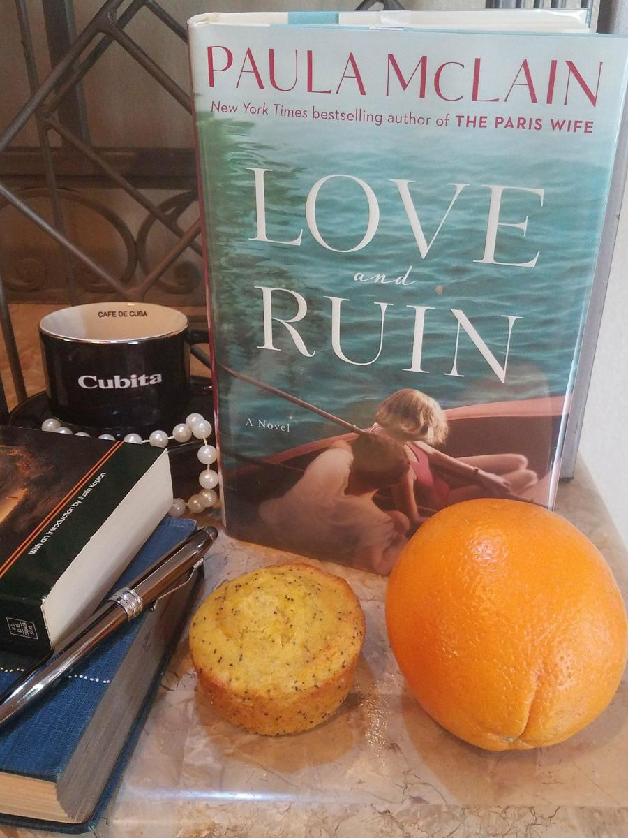 Love and Ruin: Book Discussion and Easy Orange Poppy Seed Muffin Themed Recipe
