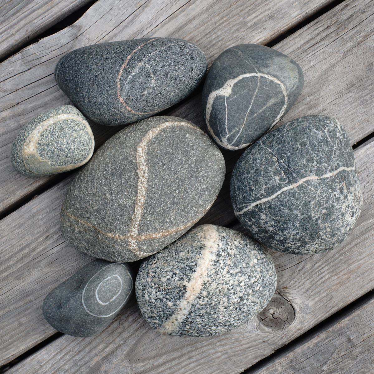 Lake Michigan Beach Stones