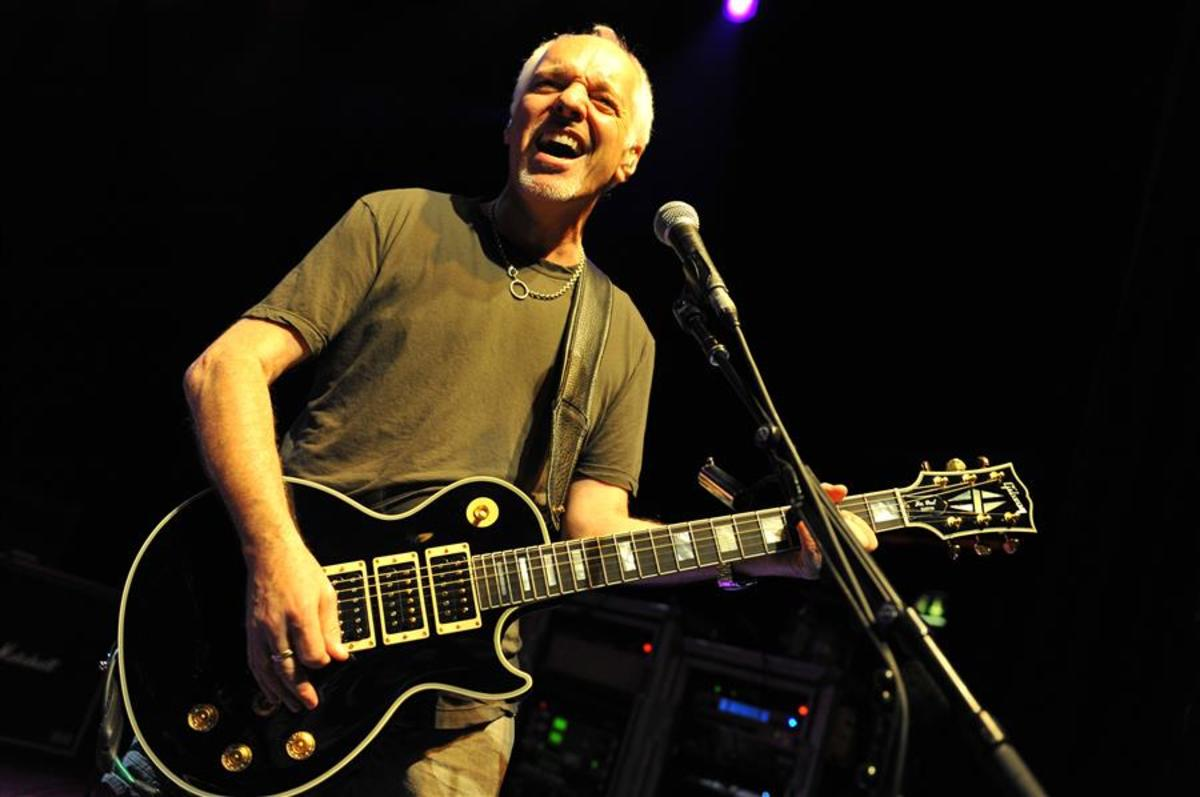 Peter Frampton And The Gibson Les Paul