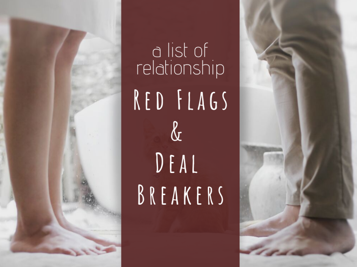 50 Common Relationship Deal Breakers