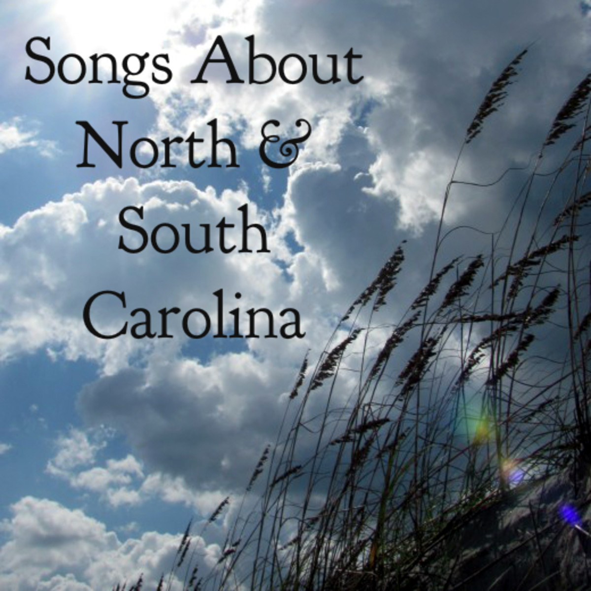 54 Songs About North Carolina and South Carolina