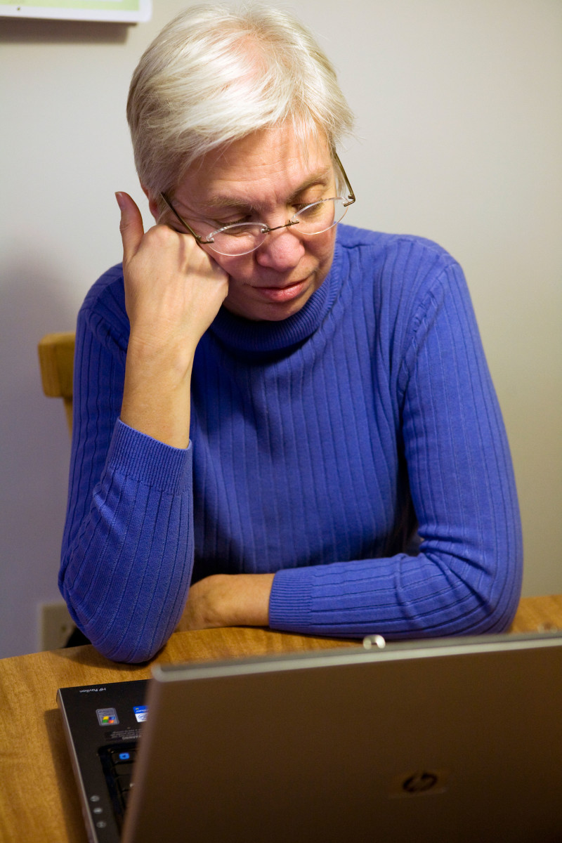 Dealing With Computer Problems After Losing Your Spouse