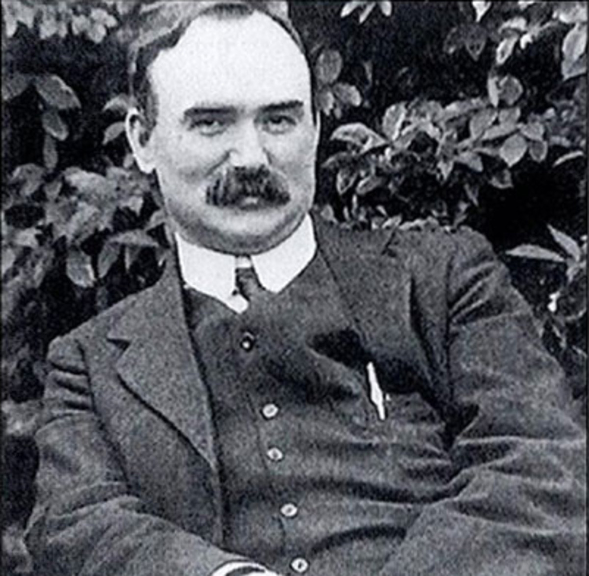 The CA's namesake, James Connolly