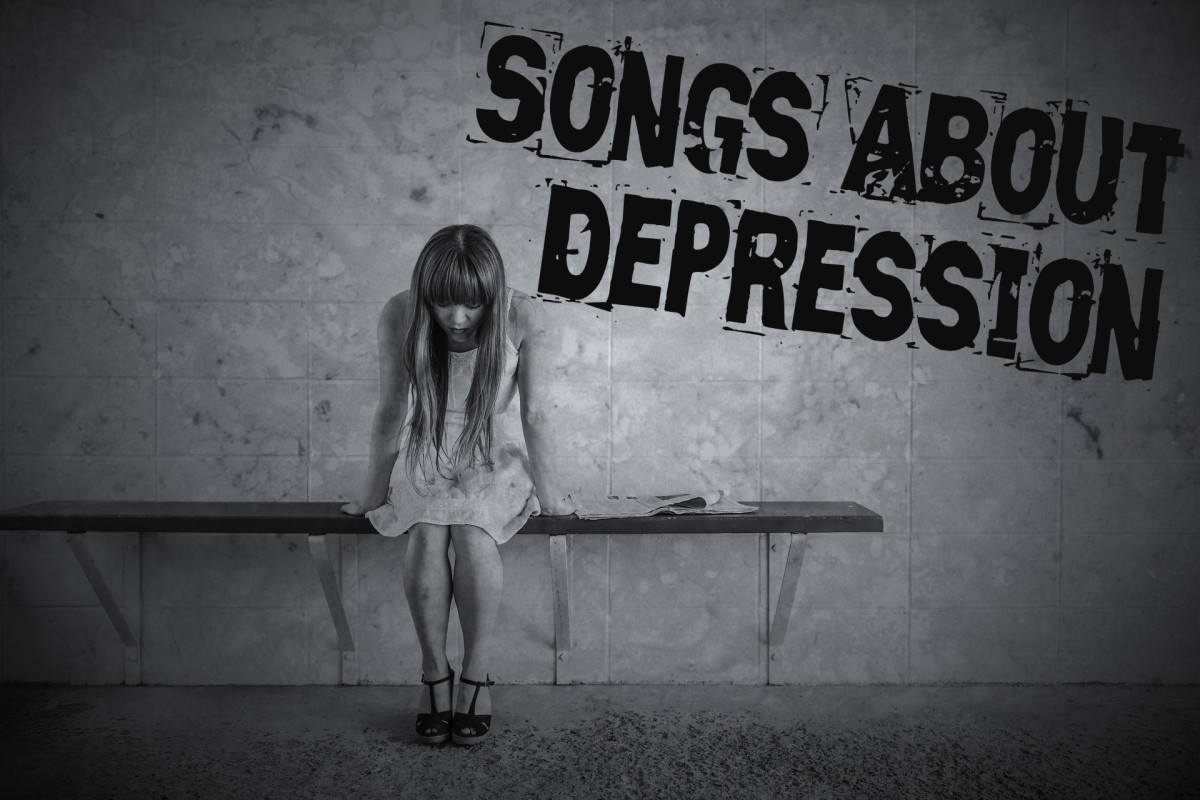 Depression is like a thick blanket that covers a person with dark thoughts and deep sadness.  Make a playlist about depression using these pop, rock, and country songs and know that you are not alone.