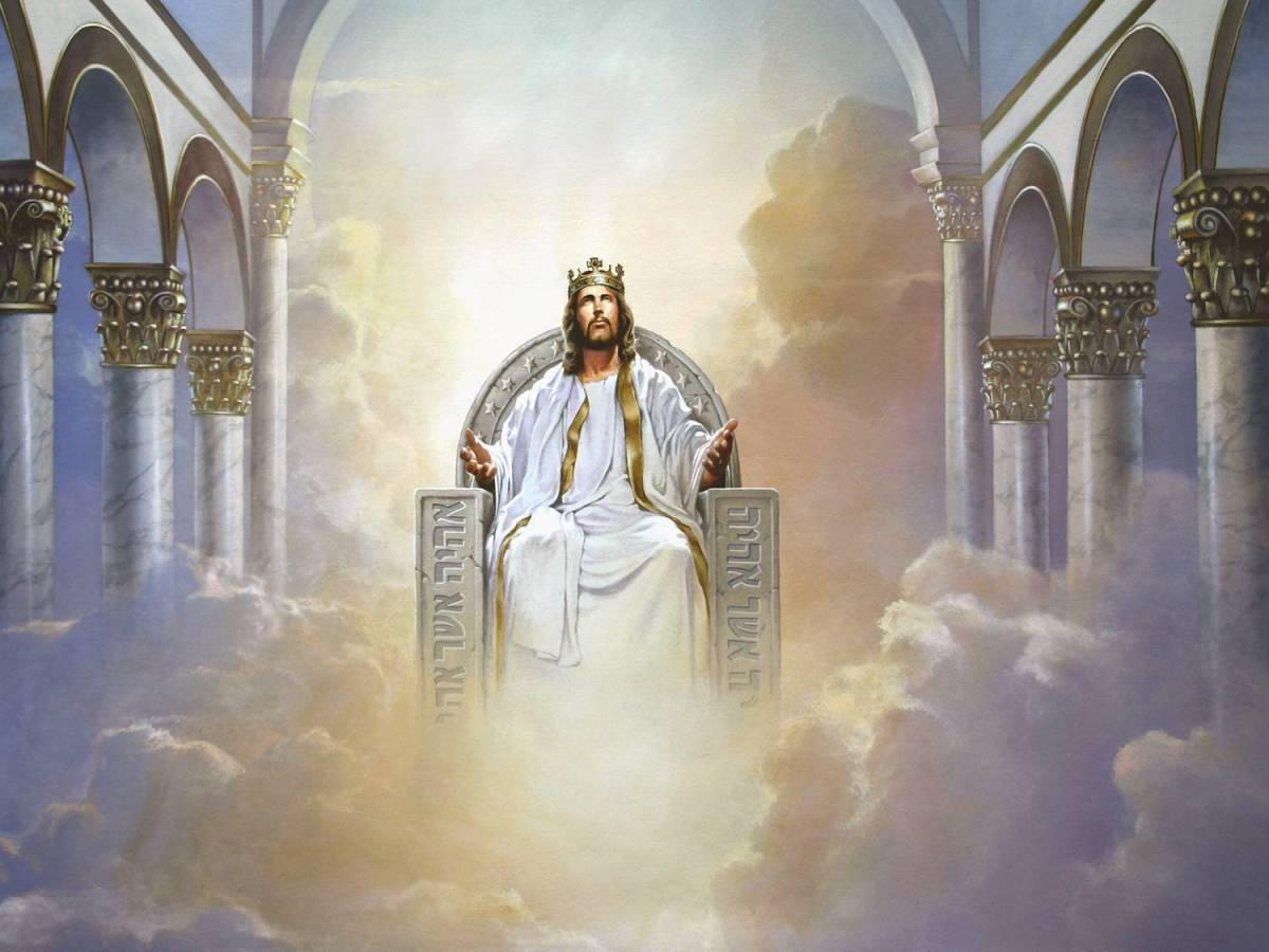 Rose Petals Around the Throne of God