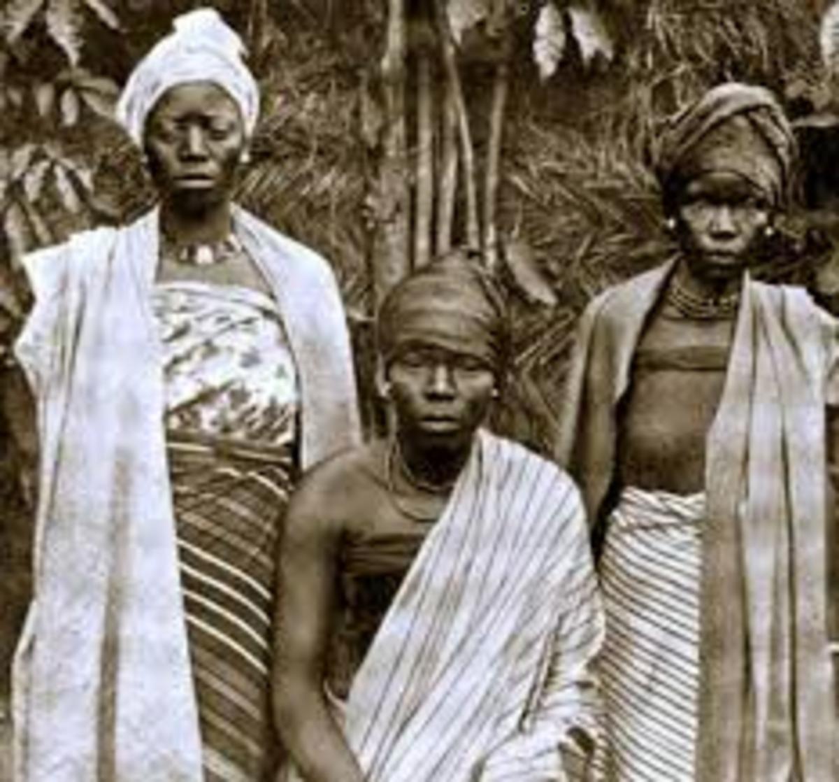Women in Igbo society were marginalised