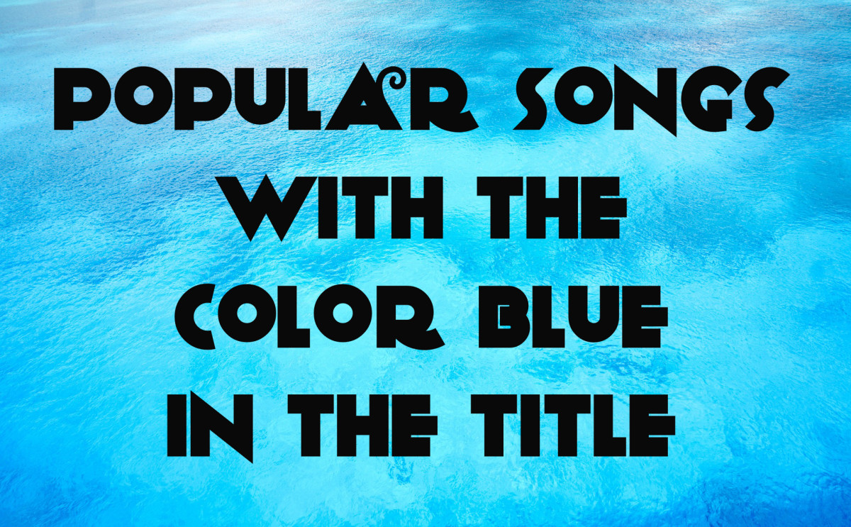 70 Popular Songs with the Color Blue in the Title