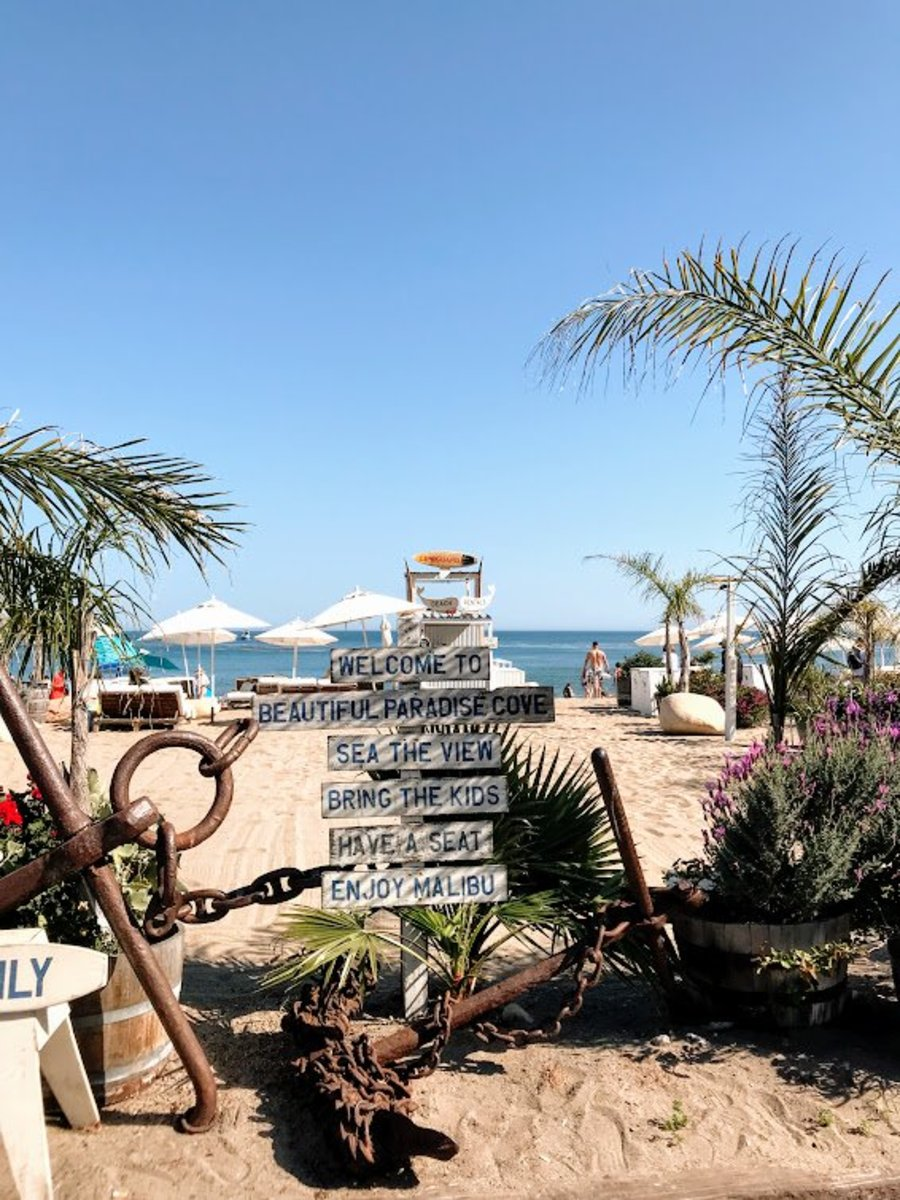 A Visit to Paradise Cove Beach and Café: Tips and Things to Know