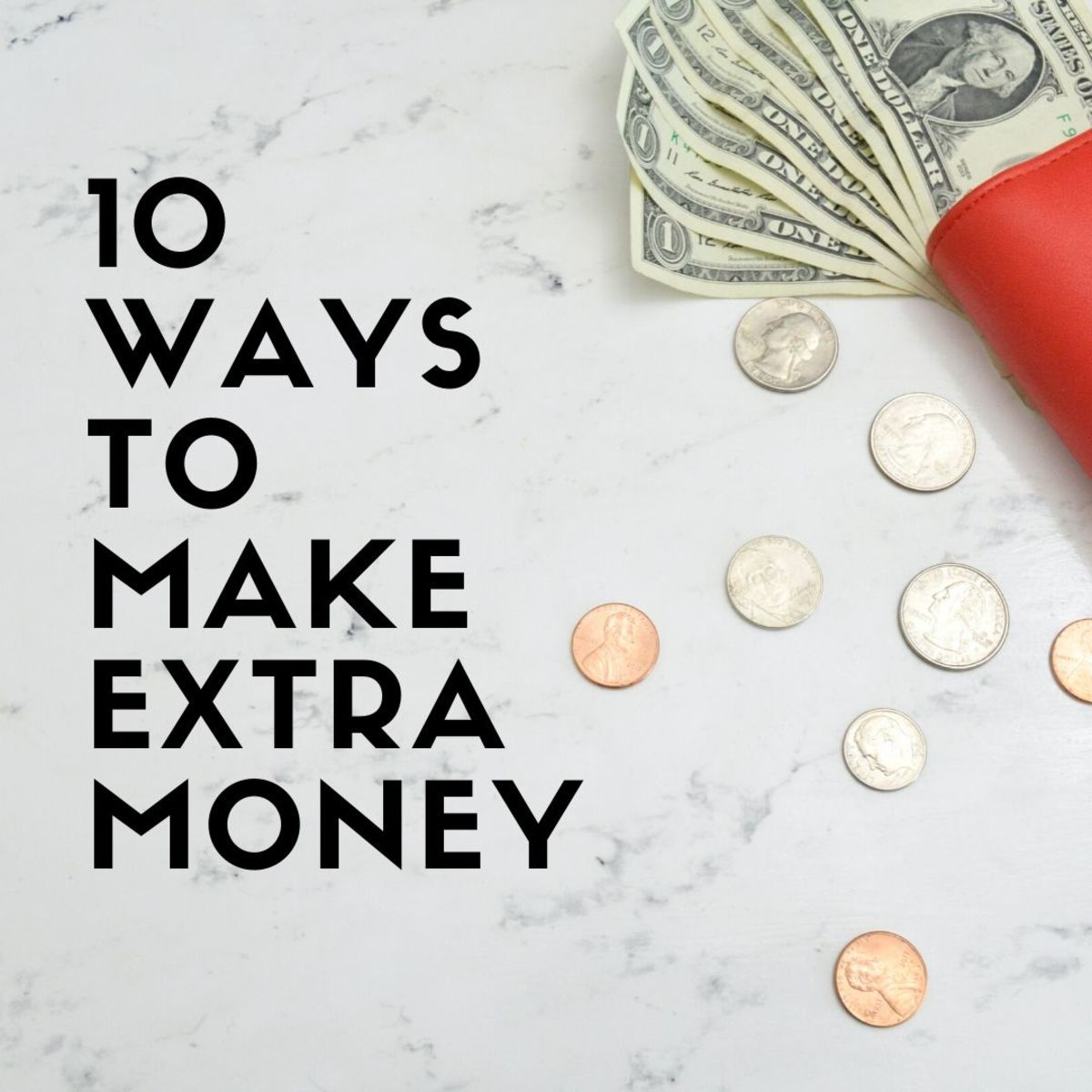 Learn 10 easy ways to make extra money outside of your 9–5 job.
