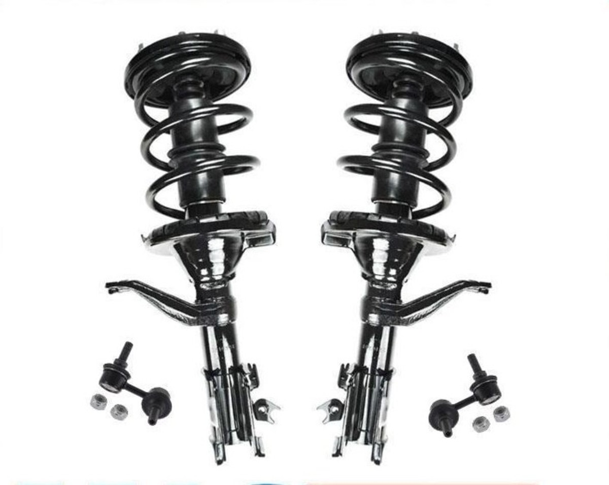 2002 - 2006 Honda CRV Front Struts with Sway / Stabilizer Bar Links