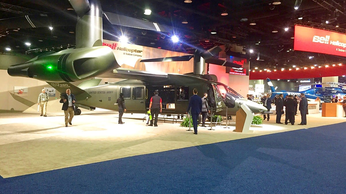 V - 280 at a Heli - Expo