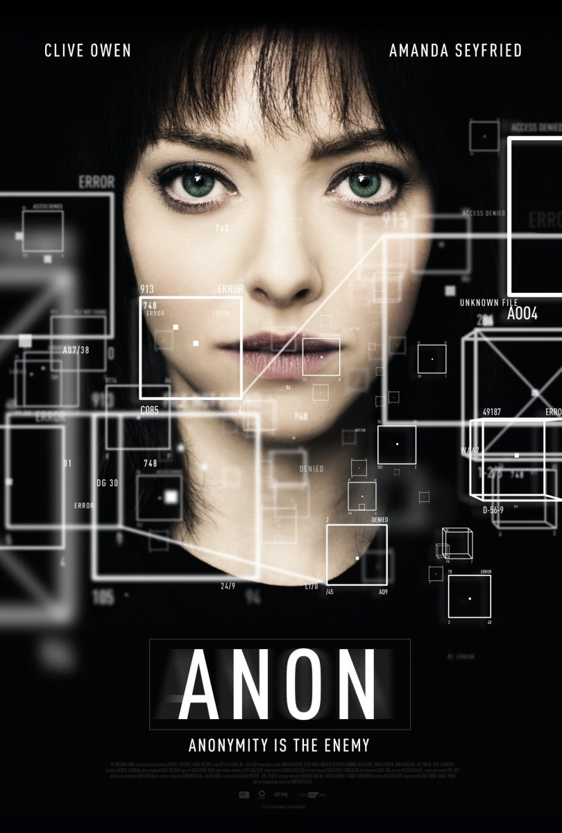 Anon Film Review (2018) Sci-Fi Thriller