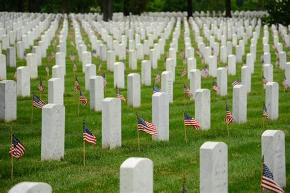 Memorial Day; the Day We Honor Heroes Who Not Only Served, but Never Made It Back Home