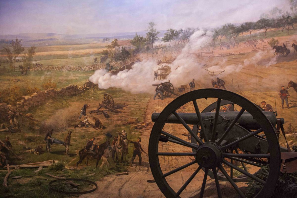The Battle of Gettysburg was the turning point of the Civil War
