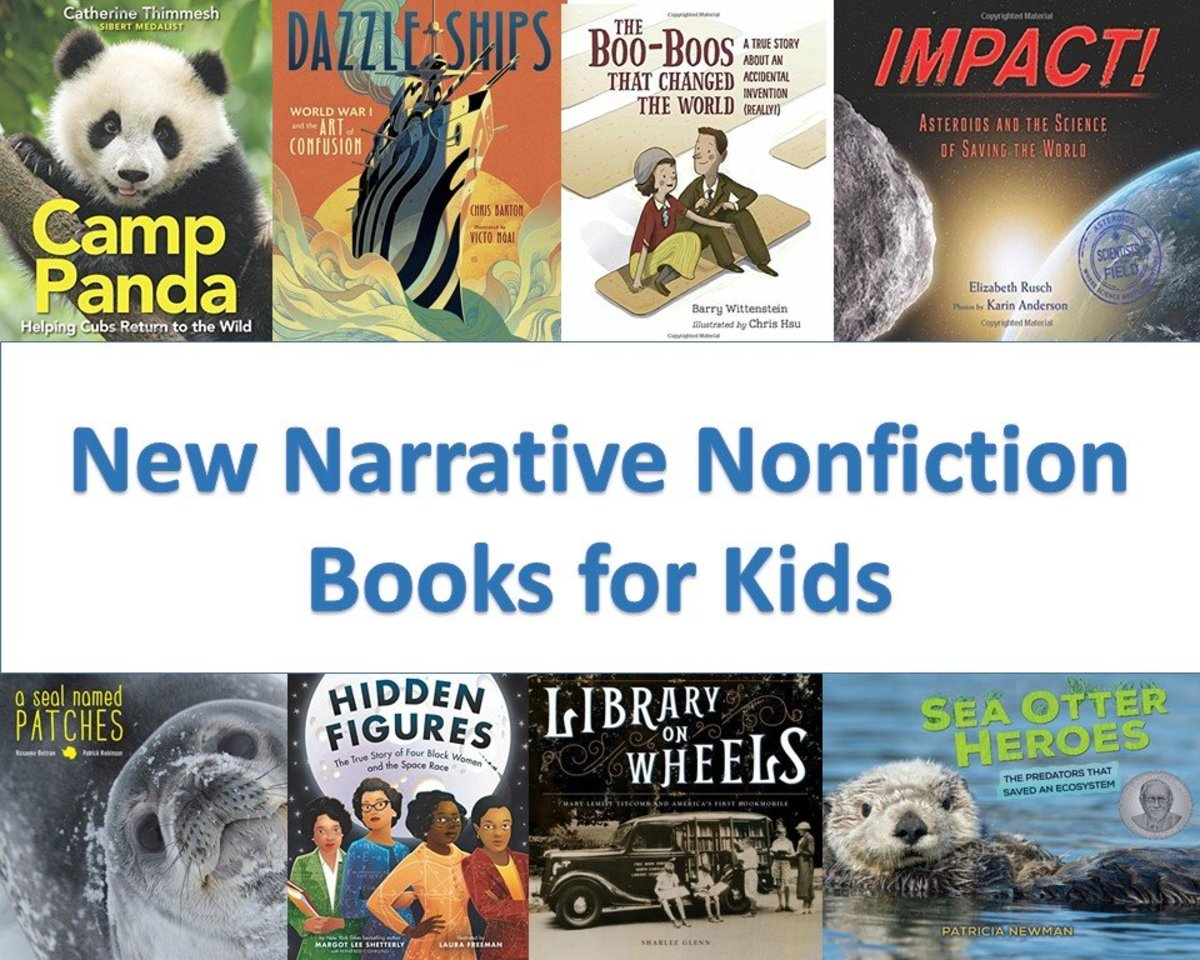 A Review of the 21 Best New Narrative Nonfiction Books for Kids