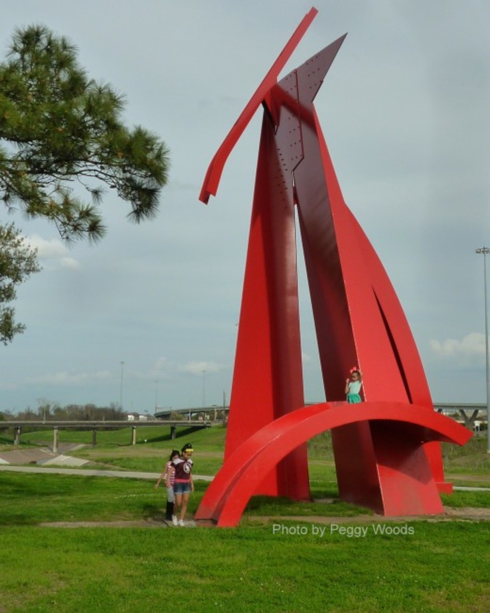 """Houston"" sculpture by Mac Whitney"