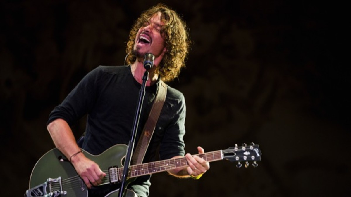 Chris Cornell and the Gibson ES-335