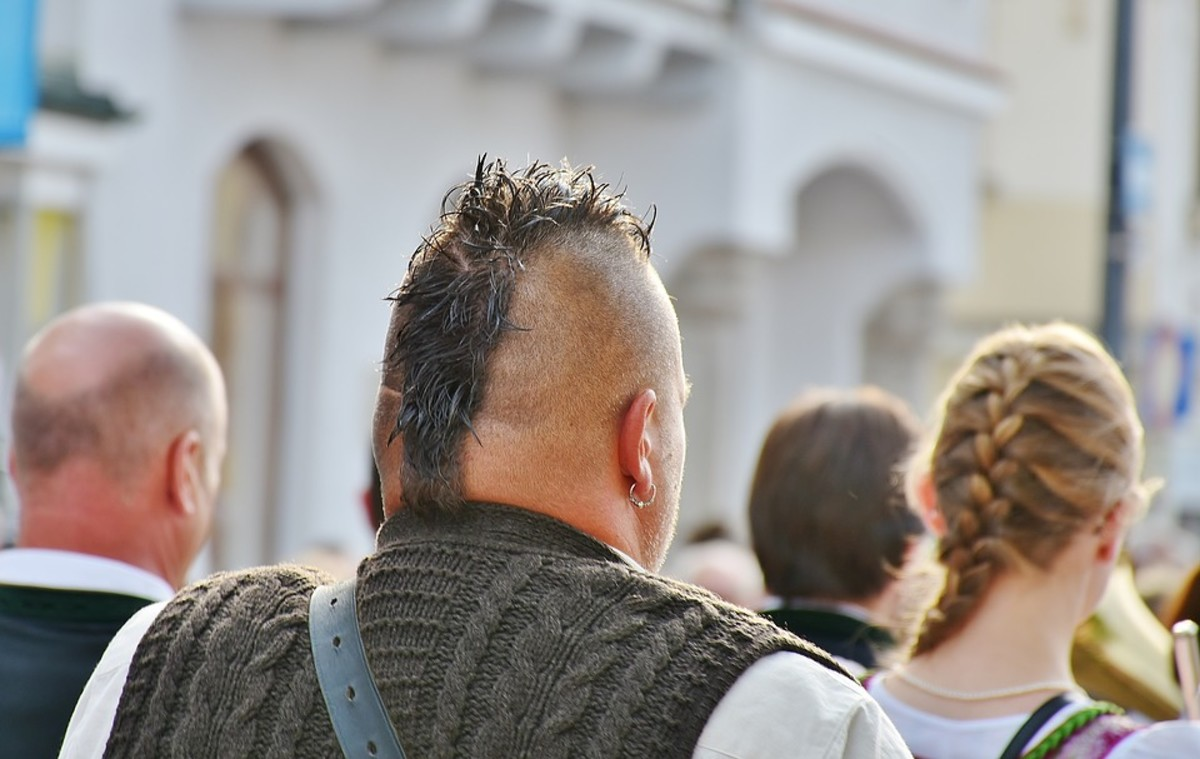 Your company's name (or logo) could be seen on the side of this guy's head.