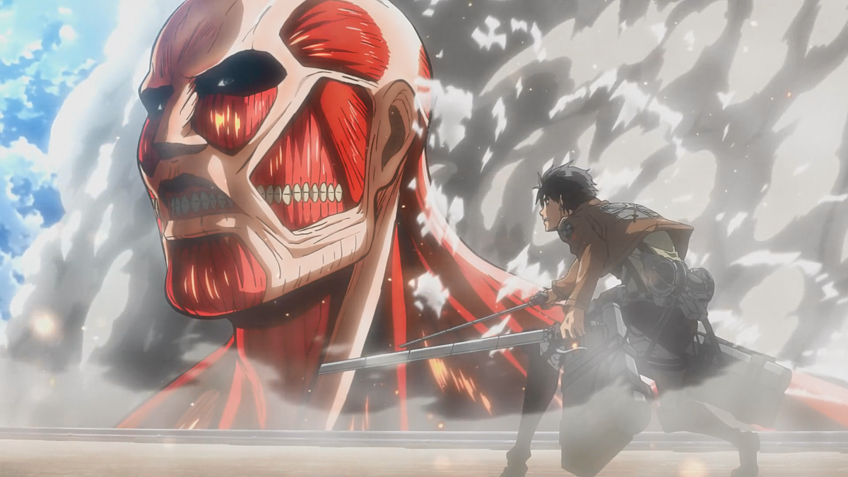 Attack on Titan, Production I.G/Wit studio. 2013.