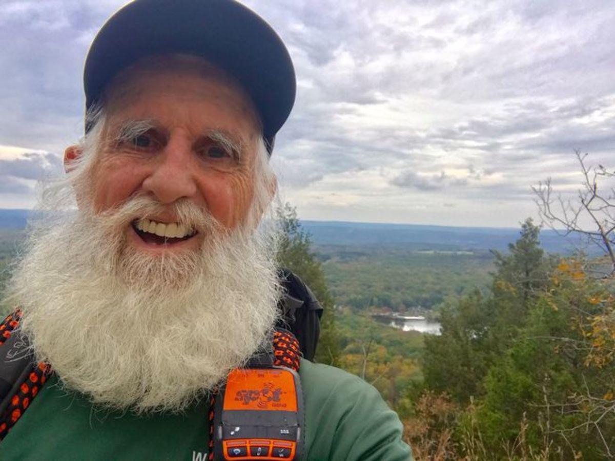 Dale Sanders on Appalachian Trail