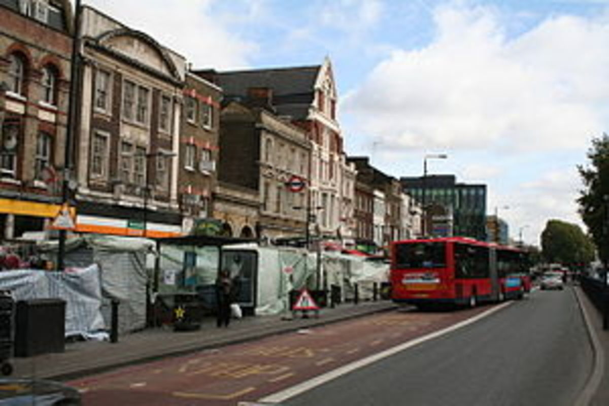 Whitechapel Road market