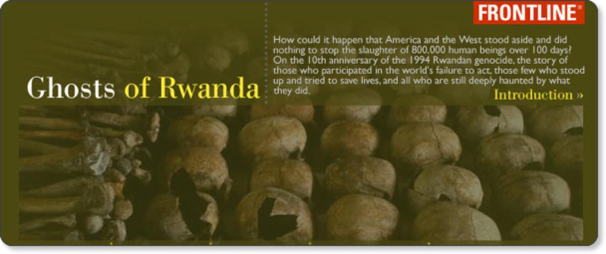 essay on ghosts of rwanda The role of rape in war in bosnia, and rwanda effected the development of  international law regarding  90 ghosts of rwanda dvd, dir.