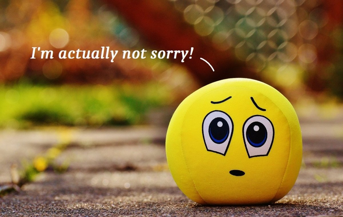"Funny Responses and Comebacks to ""I'm Sorry"""