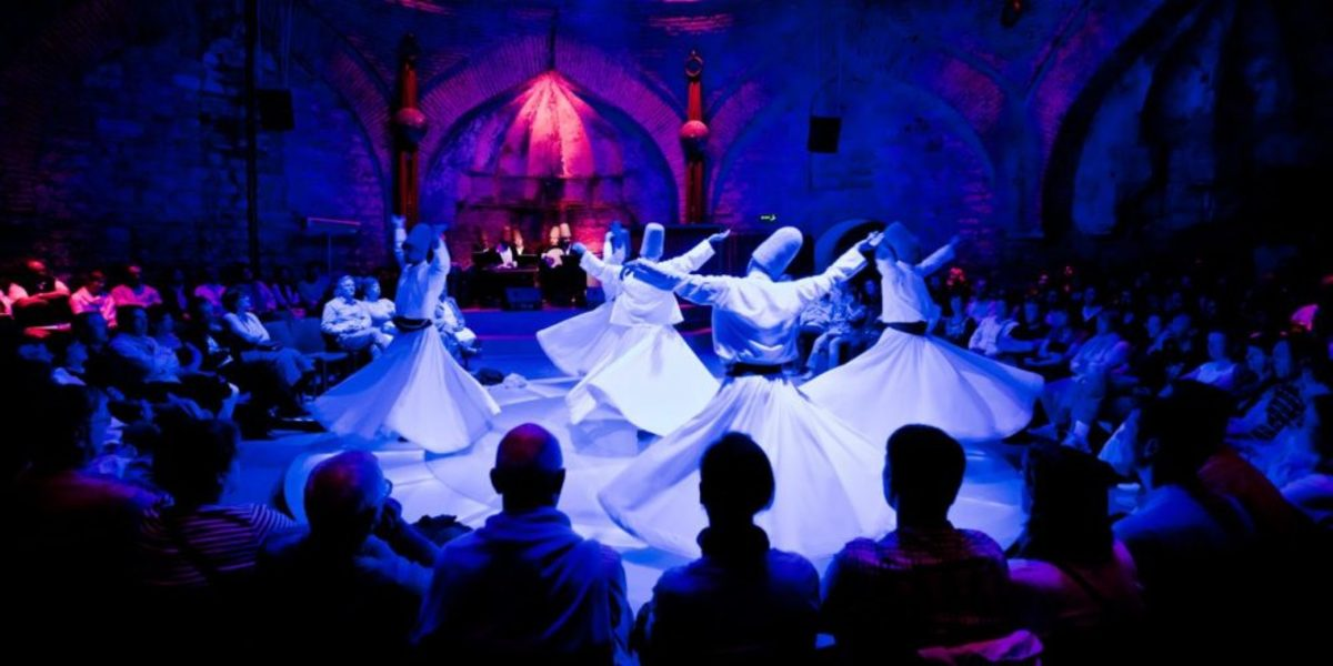 Whirling Sufi Dervishes