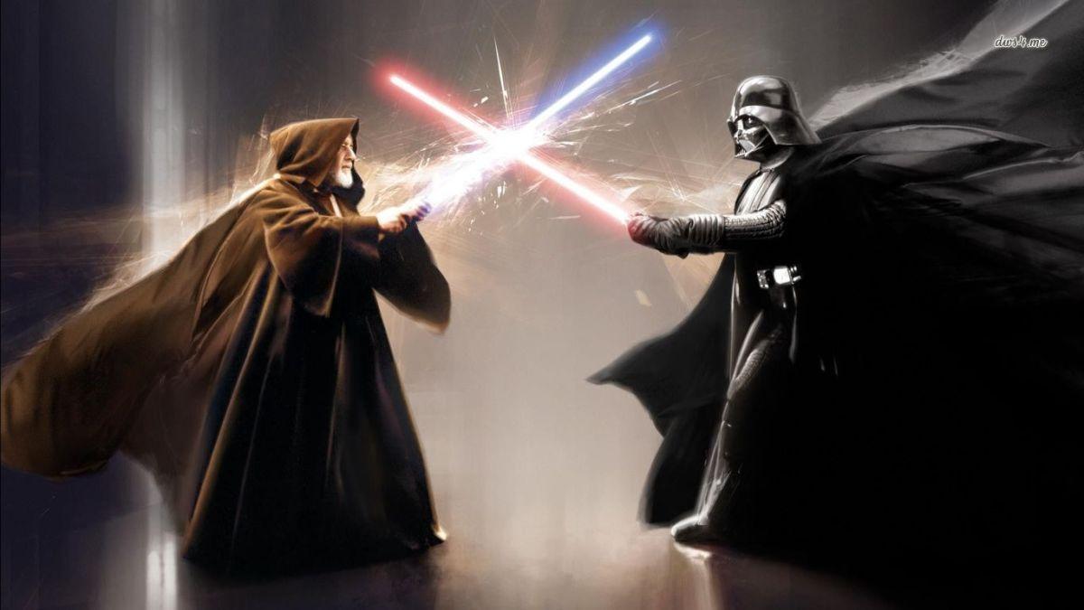 Obi-Wan Kenobi vs Darth Vader