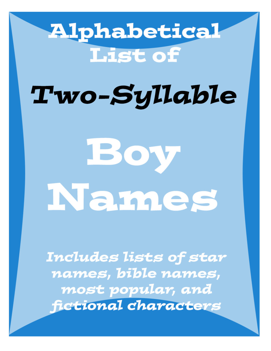 Popular Two-Syllable Names for Baby Boys