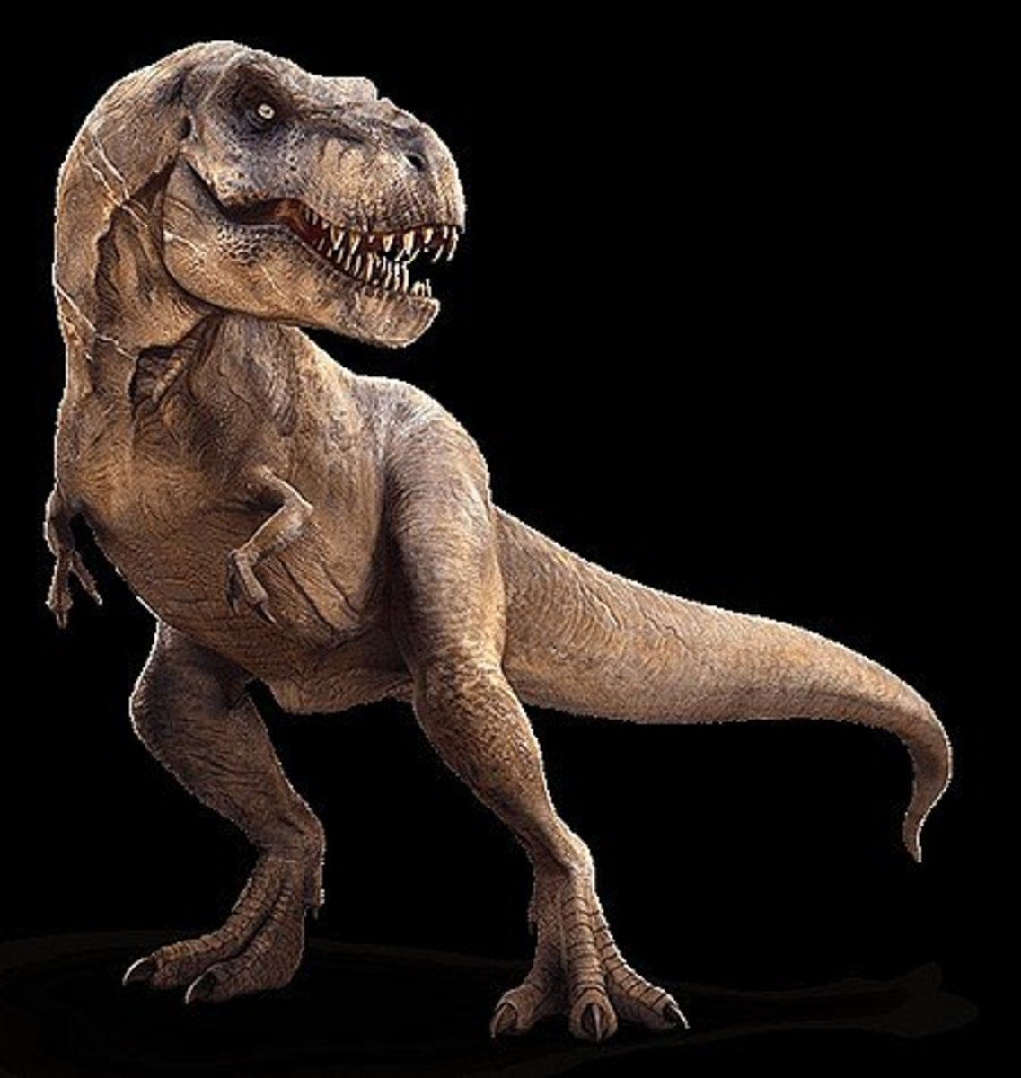 The deadly Tyrannosaurus Rex.