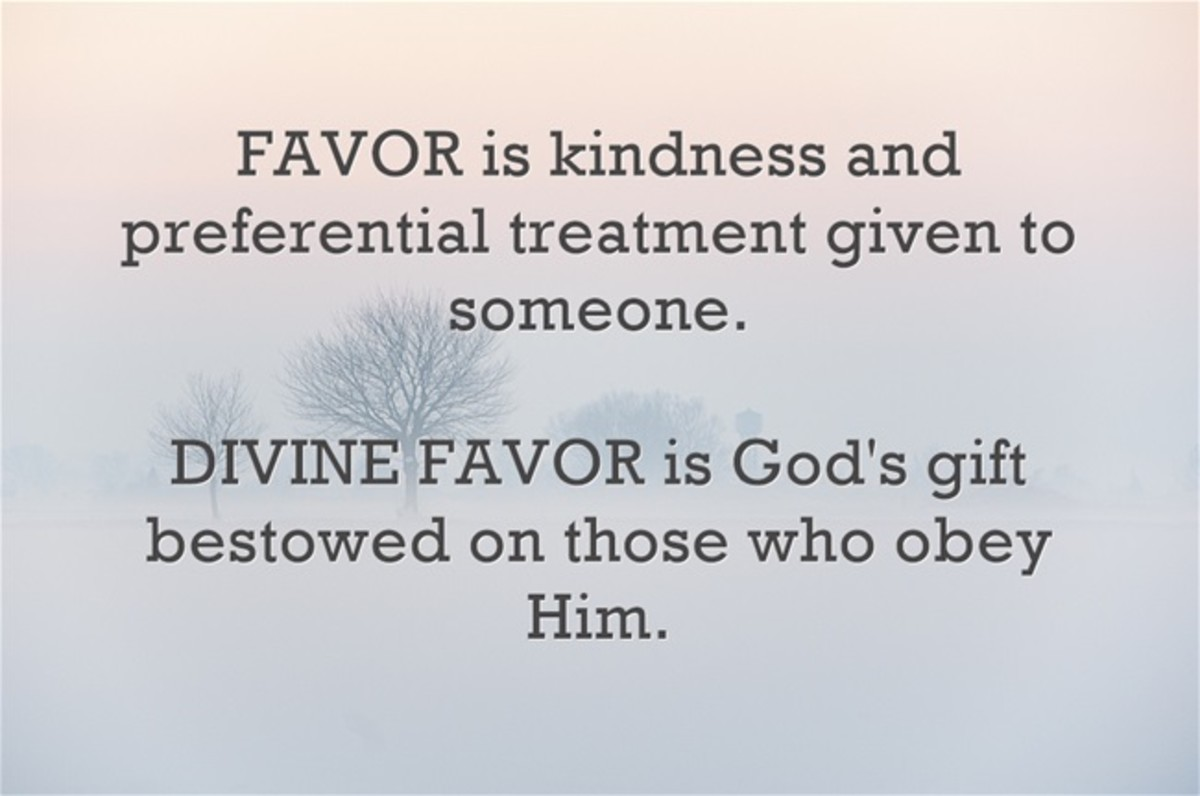 How to Walk in Divine Favor