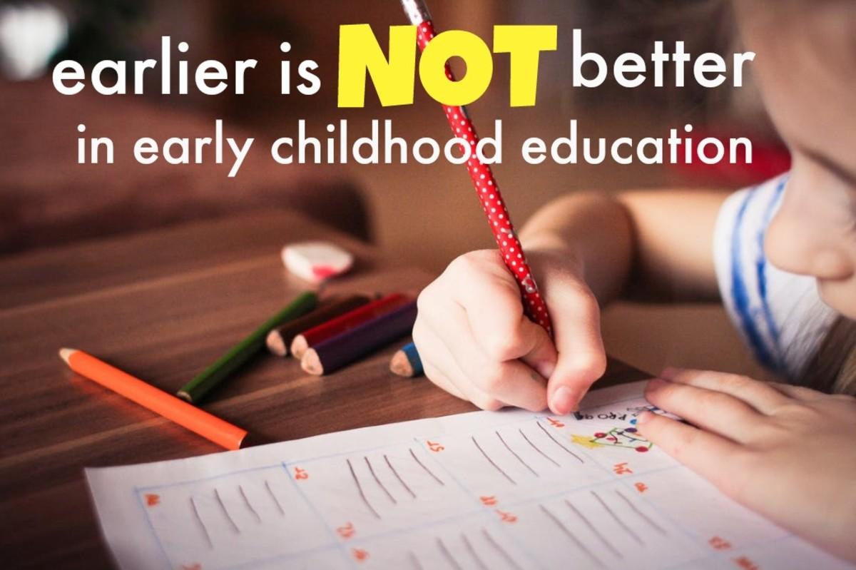 Teaching academics at preschool does not result in smarter kids.
